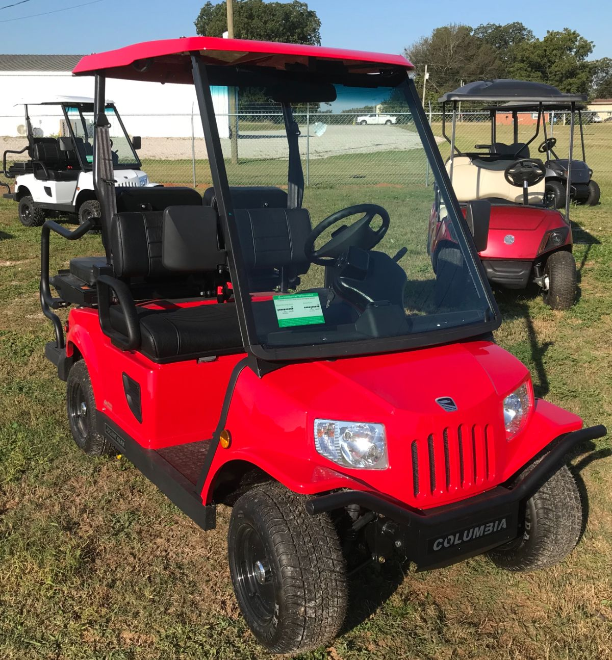 2021 Columbia Journeyman - Street Legal LSV - Red for sale at Lift Service Inc in Alabama