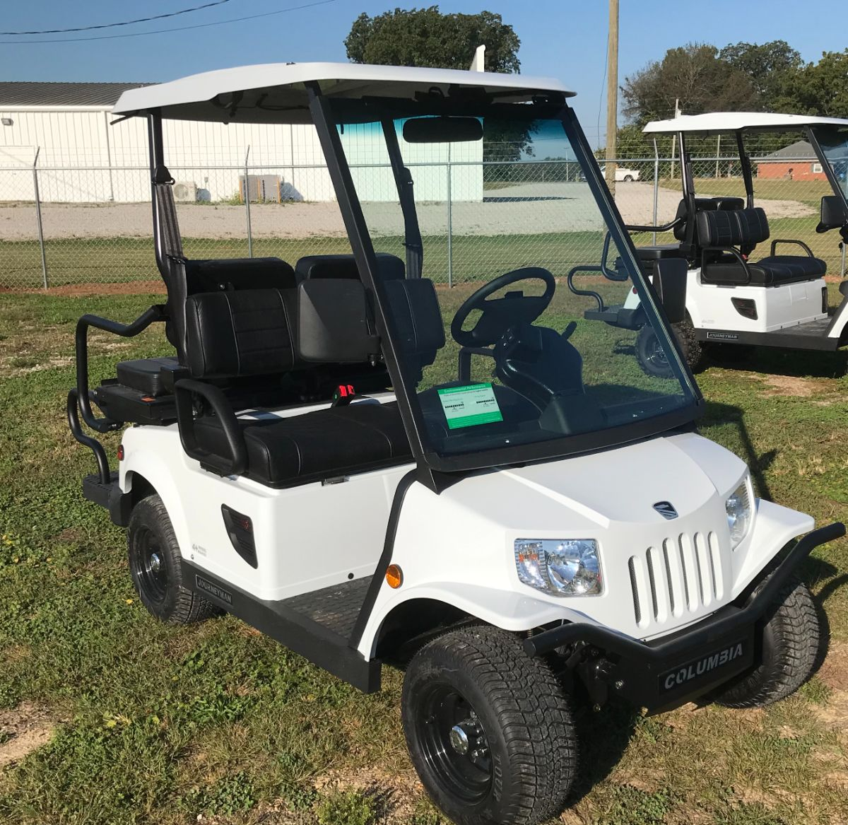 2021 Columbia Journeyman - Street Legal LSV - White for sale at Lift Service Inc in Alabama